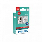 "СВЕТОДИОД 12V P21W (BA15S) LED RED ""PHILIPS"" (12839 REDX2)"