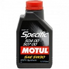 МАСЛО MOTUL SPECIFIC 5W30 VW 504.00/507.00 (1 Л)