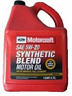 МАСЛО FORD MOTORCRAFT SYNTHETIC BLEND MOTOROIL 5W20 4,73 Л)